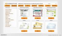 Firemní web prezentace - Directive