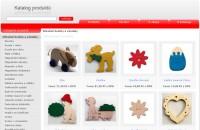 Informační web - Internetový katalog produktů