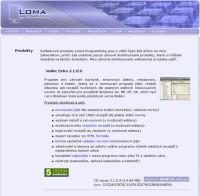 Firemní web prezentace - Loma Programming