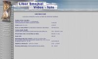 Internetové stránky - Libor Smejkal - Video Foto