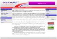 Informační web - Solidní půjčky CZ