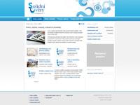Internetové stránky - Solidní úvěry CZ (web pro ochranu spotřebitele)